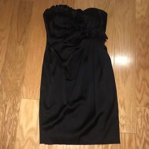 Maggy London Black Cocktail Dress, Size 8